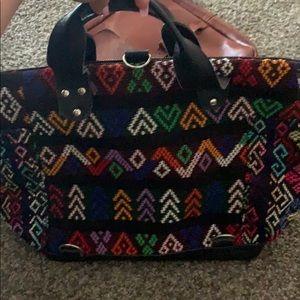 Handbags - Hand made bag from Guatemala.